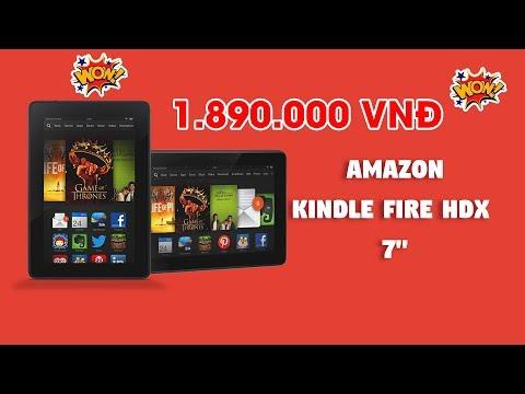 """Đánh giá Amazon Kindle Fire HDX 7 - giá rẻ nhưng quá nhiều """"Bảo Bối"""""""