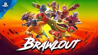 Brawlout - Announce Trailer | PS4