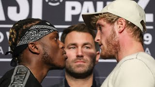 KSI VS LOGAN PAUL 2 | LIVE PRESS CONFERENCE 👊