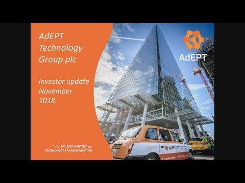 AdEPT Technology (ADT) Presentation at MELLO London November 2018