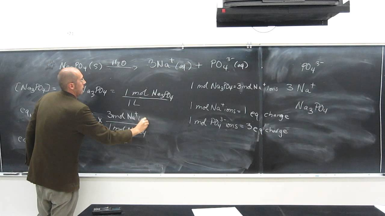 Solution Concentration Equivalents Per Liter 001