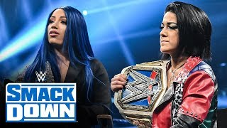 Bayley and Sasha Banks join Miz TV: SmackDown, Oct. 18, 2019