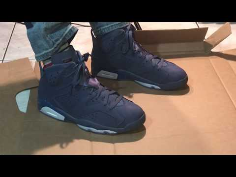 7d725e067914e5 Air Jordan 6 jimmy Butler(Review in hand) (On feet Action)Happy New year  all 2019 next step