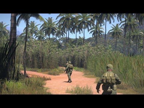Very Beautiful Mod about Vietnam War ! Realistic FPS Game ArmA 3 Unsung Vietnam Mod