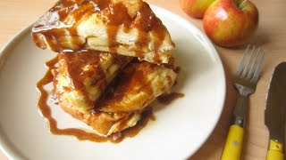 Recipe: Apple Brioche French Toasts W/ Salted Caramel Sauce