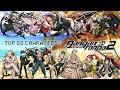 Top 10 Danganronpa 2: Goodbye Despair Characters