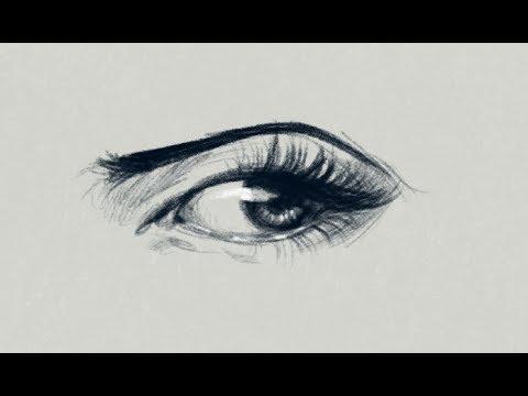Imparare Subito A Disegnare Un Occhio Realistico 1080p 60fps Soft