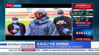 Kauli ya Amina: Waziri wa Michezo akutana na AK huku wakiandaa riadha