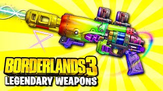 Borderlands 3  - Top 10 NEW DLC 1 Legendary Weapon Locations YOU NEED TO GO TO!