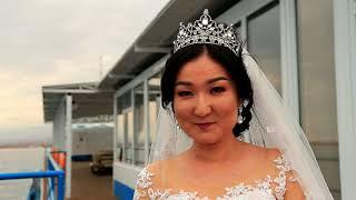 Wedding day Омурбек Алтынай красивая свадьба Иссык - Куль 2017 love story