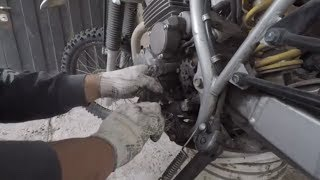 Cambiar transmisión / kit de arrastre de Moto