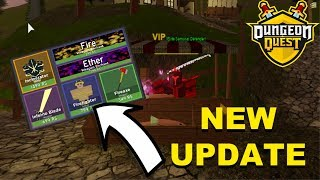 NEW UPDATE! New Cosmetics, Dungeon Nerfs and MORE! (ROBLOX Dungeon Quest)