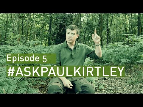 #AskPaulKirtley Episode 5 - Knife Sharpening, Knives & The Law, Bears In Sweden And More...