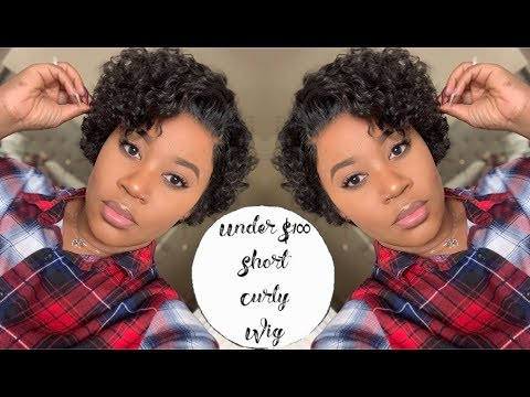 $79!!!!! Very Affordable Short Curly Bob Wig I 45% Off Black Friday Sale I Omgherhair