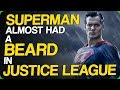 Superman Almost Had a Beard in Justice League (Actors Who Should Return to the Superhero Genre)