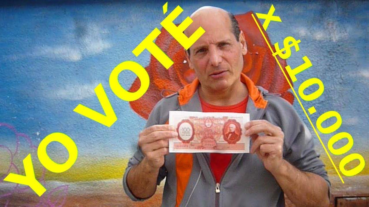 ARGENTINA, Elecciones PASO 2019: Yo voté por $10 000, Claudio Madaires