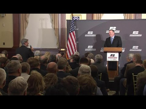 Remarks And Q&A With Iowa Farm Bureau At The World Food Prize Hall Of Laureates