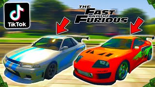 Making & Rating Viral TikTok GTA 5 Online Car Customization Videos! (Fast & Furious Edition!)