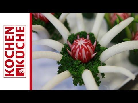 Gemüse Schnitzen Kochen Und Küche Youtube