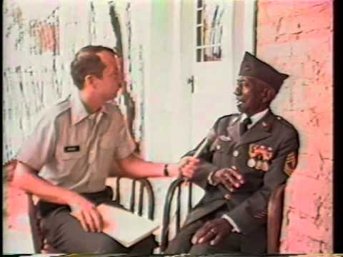 Oral History Interview with Buffalo Soldier, SGT James Clark