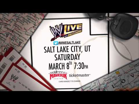 WWE- Maverik Center-Salt Lake City