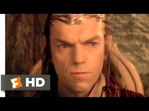 The Lord of the Rings: The Fellowship of the Ring 48 Movie   Council of the Ring 2001 HD