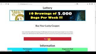 Minimum Withdraw DOGE SITE FREE