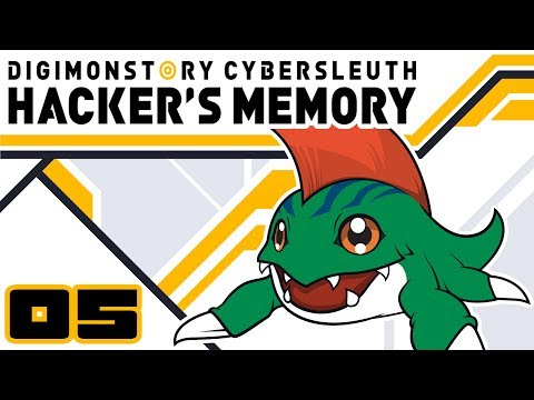 Let's Play Digimon Story: Cyber Sleuth Hacker's Memory - Part 5 - Adoramon