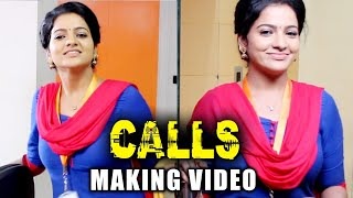 VJ Chithra's Calls Movie Making Video - Part 1| J Sabarish | Infinite Pictures