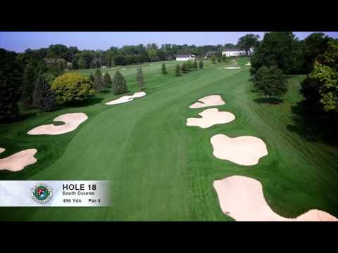 Hole 18 | South Course | Oakland Hills Country Club | Bloomfield Hills, MI