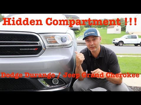 Hidden Compartment in Dodge Durango / Jeep Grand Cherokee - WOW!