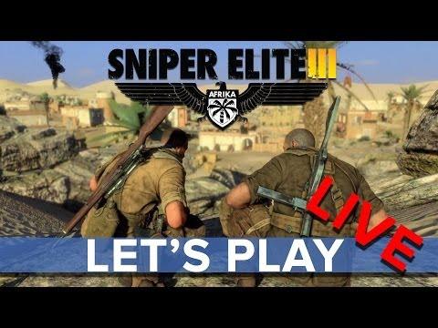 Sniper Elite 3 - Community Multiplayer - Eurogamer Let's Play LIVE