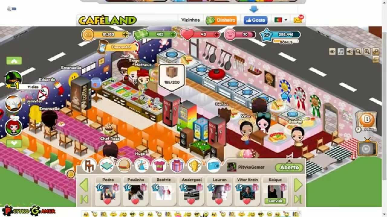 Cafeland Jogo do Faceb...