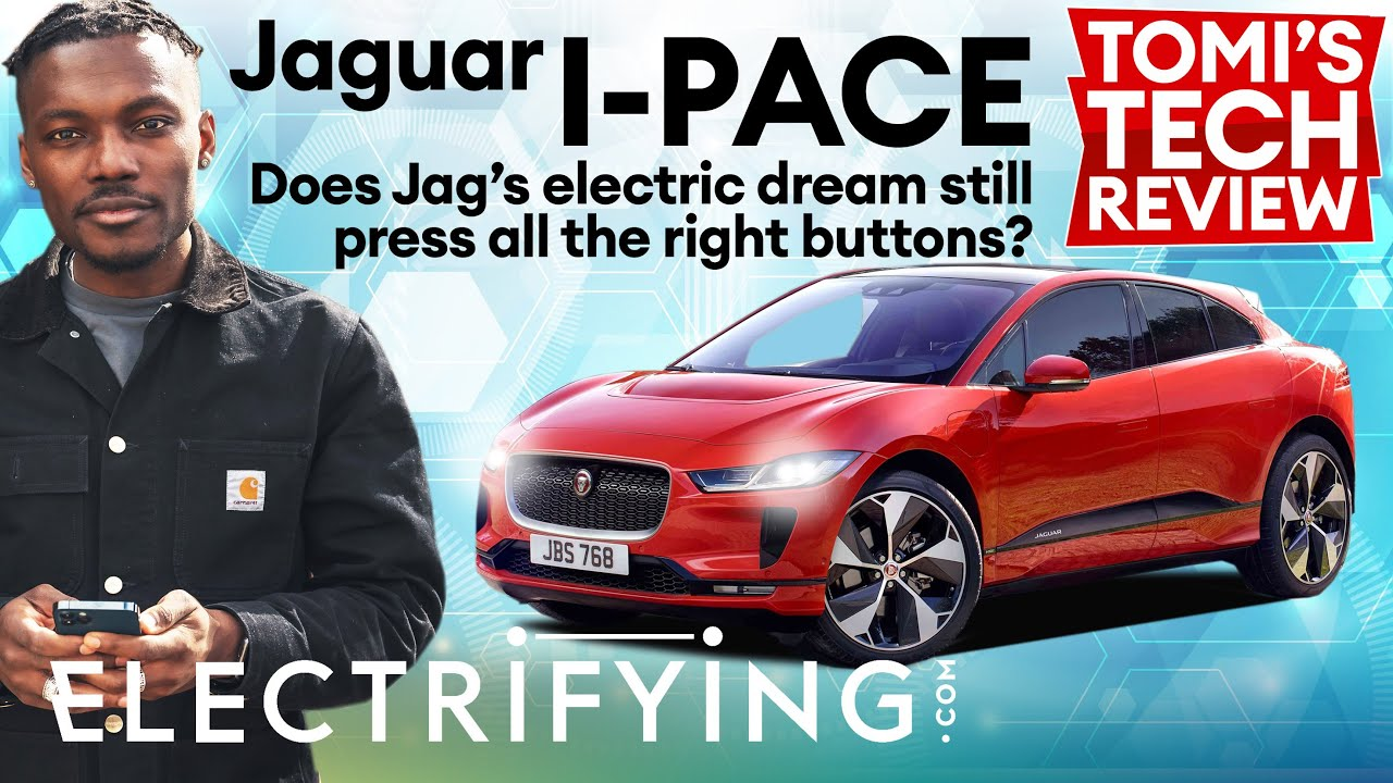 Jaguar I-Pace SUV 2021 technology review - Tomi's Tech Download / Electrifying