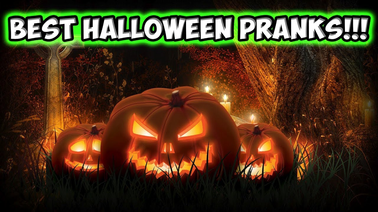 BEST HALLOWEEN PRANKS COMPILATION!!! - YouTube