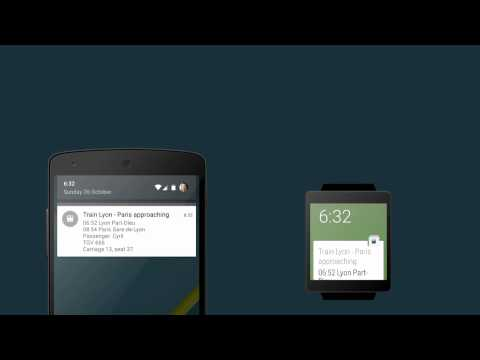 [DevFest Nantes 2014] Introduction to Android Wear
