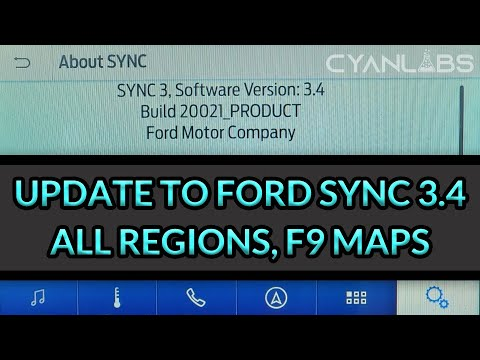 Fordsyncdownloader Automated Update To Sync 3 4 On Any Ford Lincoln Car Cyanlabs Youtube