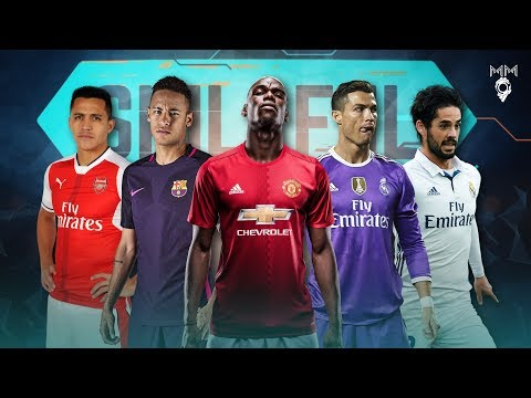 Top 10 Skillful Players in Football 2017 ● HD
