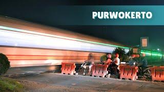 Kompilasi Kereta Api keluar masuk Stasiun Purwokerto part 2