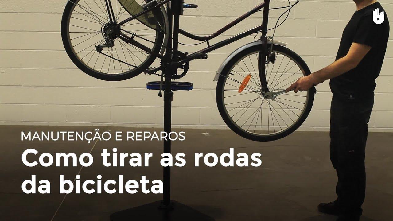 4fbce58f6 Como tirar as rodas da bicicleta