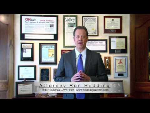 Ron Hedding San Fernando Criminal Courts
