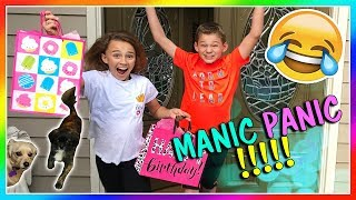 OUR MANIC PANIC DAY! | We Are The Davises
