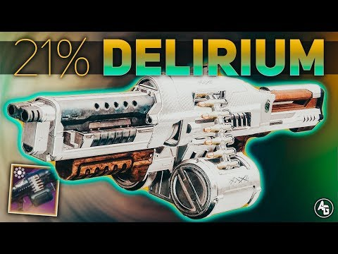 Destiny 2 | 21% Delirium Gambit Pinnacle Weapon Review (Season of the Drifter) thumbnail