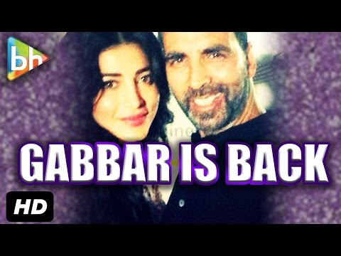 Akshay Kumar & Shruti Haasan's Exclusive Interview On Gabbar Is Back