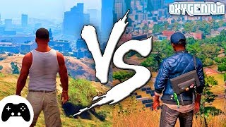 СРАВНЕНИЕ WATCH DOGS 2 ПРОТИВ ГТА 5 ГРАФИКА PS4 ПРИЧИНЫ - GTA 5 vs. Watch Dogs 2 Graphic Comparsion