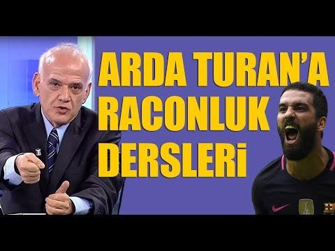 Ahmet Çakar'dan Arda Turan'a raconluk dersleri!