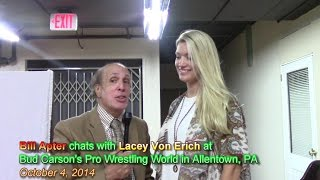 LACEY VON ERICH TALKS OF DAD KERRY, FAMILY, THE CLAW-HOLD, & MORE ...