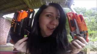 "Lady Draculina's ""Nerf Mod Emporium"" Commercial Project for University"