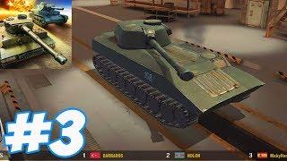 War Machines: 3D Tank Shooter - 2S1 Gvozdika Gameplay part 3 (iOs, Android)