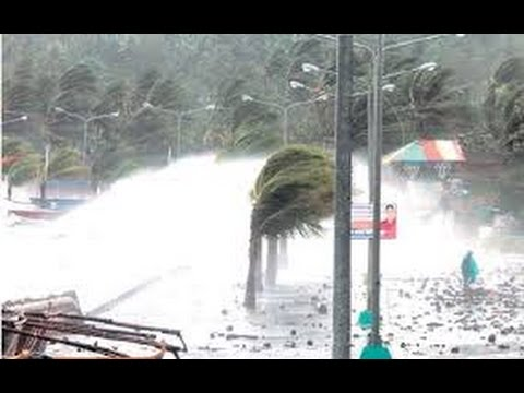 Philippines Typhoon Nina - Nock Ten Christmas Day Typhoon